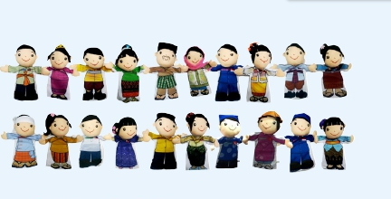 ชุดหุ่นมือตุ๊กตาอาเซียน